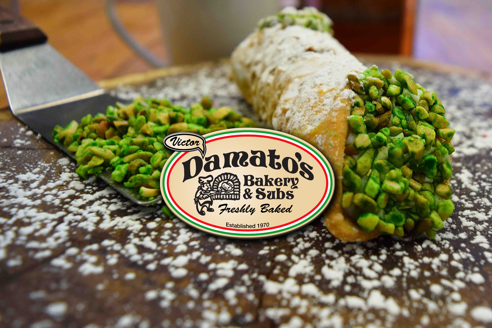 D'Amato's Chicago Cannoli